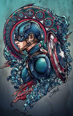 Team iron vs team cap project on behance art comic zeichnungen, comic kunst Bd Comics, Marvel Dc Comics, Marvel Heroes, Batwoman, Nightwing, Comic Kunst, Comic Art, Comic Book, Marvel Universe