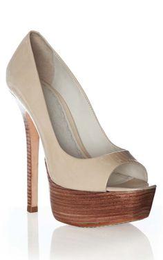 alice + olivia | laird smooth patent heel