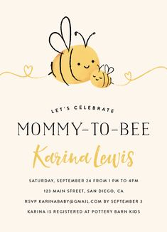 Mommy to bee baby shower invitations by chryssi ts minted mommy to bee by chryssi tsoupanarias filmwisefo