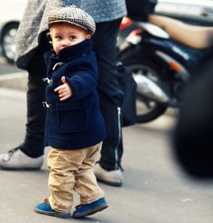"To Paparazzi: ""Okay, Okay I will take a picture."" :) Love this outfit! #kidsfashion"