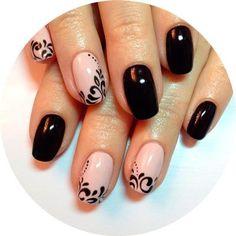 NagelDesign Elegant ( NagelDesign Elegant ( (no. ) - NagelDesign Elegant ( NagelDesign Elegant ( (no. Nail Art Hacks, Gel Nail Art, Nail Manicure, Acrylic Nails, Elegant Nail Designs, Nail Art Designs, Cute Nails, Pretty Nails, French Tip Nails