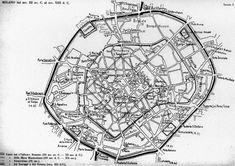 Milan Map, Milan City, City Life, Vintage Photos, Maps, Sweet Dreams, Travel, Cartography, Italia