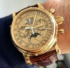 """7,129 Likes, 41 Comments - I FUCKING LOVE WATCHES (@ifuckinglovewatches) on Instagram: """"When I think of Patek Philippe 〰 ⌚️ Patek Philippe - Grand complications please DM for credit …"""""""