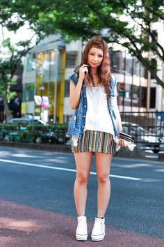 ストリートスナップ [chihiro] | Avan Lily, DIESEL, moussy, WC | 原宿 | 2012年07月23日 | Fashionsnap.com