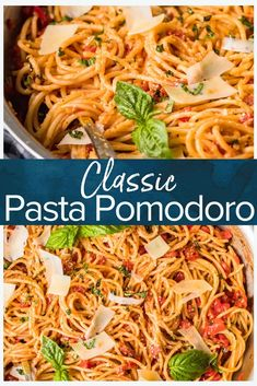 This Italian pasta pomodoro recipe is made with fresh tomatoes and a light and flavorful sauce. Perfect for a quick and easy weeknight meal and made using simple ingredients. recipes red sauce Pasta Pomodoro Recipe {VIDEO} - The Cookie Rookie® Pasta Indian Style Recipe, Pasta Recipes Indian, Summer Pasta Recipes, Pasta Salad Recipes, Italian Recipes, Simple Pasta Recipes, Light Pasta Recipes, Summer Pasta Dishes, Dinner Recipes