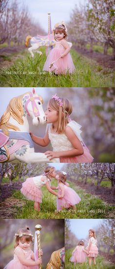 Carousel Horse mini sessions