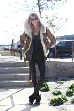 Free People Models Off Duty #streetstyle