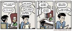 PHD Comics: How's the data?