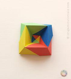 Origami Albers Box