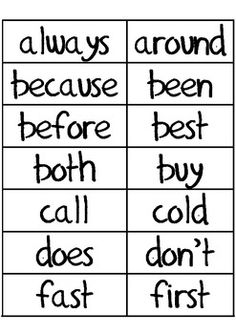 Dolch Second Grade Sight Words for Word Wall 2nd Grade Ela, 2nd Grade Reading, Spelling Lists, Spelling Words, Word Study, Word Work, Vocabulary Wall, Second Grade Sight Words, Reading Wonders