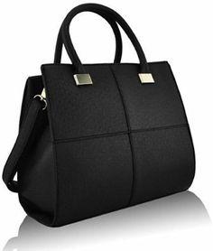Womens Shoulder Bags Ladies Handbag Designer Fashion Faux Leather Celebrity  Style  Amazon.co.uk  Shoes   Bags 7d28c51ccab81