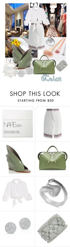 """My Honor"" by tricewillbe ❤ liked on Polyvore featuring NARS Cosmetics, Chicwish, Abcense, Jil Sander, Johanna Ortiz, Allurez, Anne Sisteron, Van Cleef & Arpels and Kenneth Jay Lane"