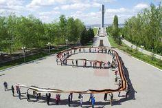Парк Победы на Соколовой горе в Саратове      #Саратов #СаратовLife