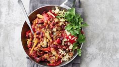 Nopea Chili sin carne Salty Foods, Kung Pao Chicken, Cobb Salad, Chili, Meals, Baking, Ethnic Recipes, Red Peppers, Savory Foods