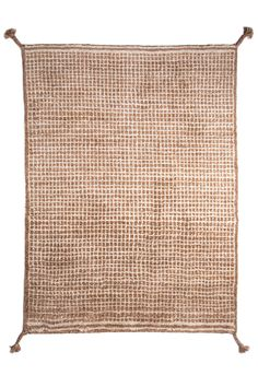 Woodnotes' hand knotted wool carpet col. white-camel