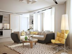 34 Fabulous Scandinavian Living Room Design Ideas , You will observe the way the room will get bigger. As living room is regarded as the most important and stunning place of a home, you should worry abo. Living Room Flooring, Living Room Carpet, Rugs In Living Room, Living Room Designs, Living Room Decor, Simple Living Room, Beautiful Living Rooms, Small Living Rooms, Apartment Interior Design