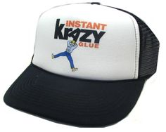 Krazy Glue Trucker hat - Products, Business and Brands Trucker Hats & More