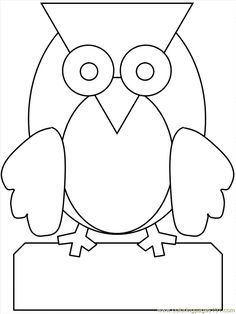 owl coloring pages free printables | ... Pages Owl Coloring 05 (Animals > Owl) - free printable coloring page