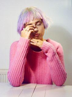 Moffy @Storm Models.Styling: Madeleine Ostlie .Make-up: Linda Andersson .Hair: Kiyoko Odo for Rollacoaster Magazine