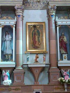 Virgen de Guadalupe coronada en Xalostoc
