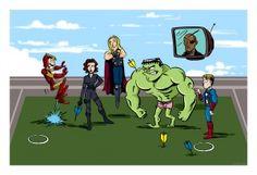 Avengers assemble- for fun!