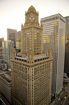 Jeweler's Building on Wacker Drive designed by Dankmar Adler and Louis Sullivan built 1881-1882 - Chicago, IL