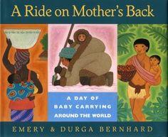 A book on babywearing around the world. Looks like a fun one!