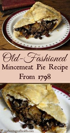 Pie Recipes 120612096255803792 - This old-fashioned mincemeat pie recipe from 1798 is made with real meat, and it's full of apples, raisins, currants, and lots of warm spices. Source by homesteadlady Real Food Recipes, Dessert Recipes, Cooking Recipes, Old Recipes, Pie Dessert, Cake Recipes, Recipies, Colonial Recipe, Mince Meat