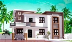 modern house plans in the philippines with house exterior paint visualizer with ranch house exterior paint colors for kerala new home interior designs Best Small House Designs, Latest House Designs, Simple House Design, House Front Design, Modern House Design, Contemporary House Plans, Modern House Plans, Exterior Paint Visualizer, 2 Storey House Design