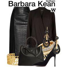 Inspired by Erin Richards as Barbara Kean on Gotham.