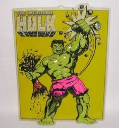 RARE Vintage Marvel The Incredible Hulk Comic Book Store Poster Display 1989 | eBay