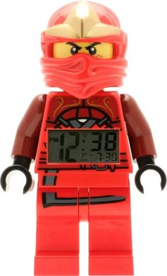 LEGO Ninjago Kai ZX mini figure Clock