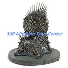 Game Of Thrones Iron Throne 7-inch Replica //Price: $134.99 & FREE Shipping //     #SevenKingdoms