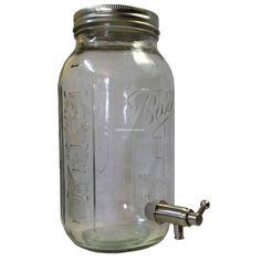 Drink Dispenser Half Gallon / 2 Litre Decorative