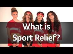 #LittleMixAnnouncement – This year we will be recording the OFFICIAL single for ‎Sport Relief >> CAN'T WAIT TO HEAR IT, SO EXCITED!!! :)>>>>so proud of our girls!