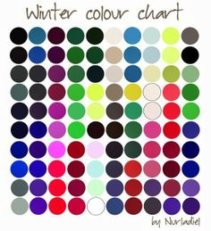 Season Clothing Color Analysis What Season of color compliments you best. Determine which Season Color Palette; Look your Best! Deep Winter Colors, Deep Winter Palette, Clear Winter, Dark Winter, Color Combinations For Clothes, Winter Typ, Summer Winter, Seasonal Color Analysis, Cool Undertones