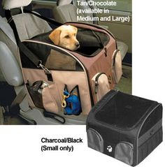 Purchase Luxury Pet Car Seat Carrier With Harness