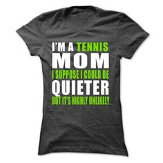 Tennis T Shirts, Hoodies, Sweatshirts. CHECK PRICE ==► https://www.sunfrog.com/Sports/Tennis-33463034-Ladies.html?41382