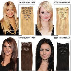 Have you ever used hair extensions to do hairstyle? Add length and colorful hair in minutes!Fashion gift for Christmas!Buy Now Big Saving!