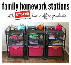 Pictures Of Homework Stations Station Home School Pinterest And Site Words