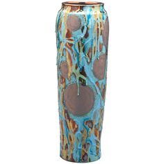 Luster Pottery Vase by Paul Katrich, circa 2005 | From a unique collection of antique and modern vases and vessels at https://www.1stdibs.com/furniture/decorative-objects/vases-vessels/