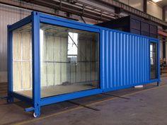 55 Trend Container Home Design Ideas Container Home Designs, Container Shop, Cargo Container, Container Architecture, Container Buildings, Architecture Design, Shipping Container Swimming Pool, Shipping Container Office, Shipping Containers