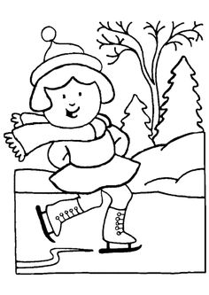 Winter Season Coloring Pages Inspirational Winter Season Clip Art Clipart Best