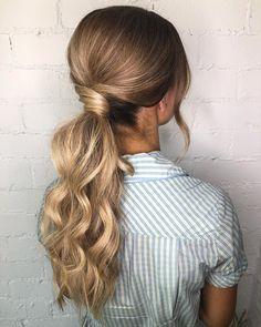 Top 10 Braided Hairstyles and Tutorials in 2020 Spring (Easy to Make) - Flechtfrisuren Long Hair Wedding Styles, Elegant Wedding Hair, Wedding Hairstyles With Veil, Bride Hairstyles, Short Hair Styles, Hair Ponytail Styles, Low Ponytail Hairstyles, Fancy Hairstyles, Bridal Hair And Makeup