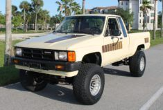 Bid for the chance to own a 1985 Toyota Pickup at auction with Bring a Trailer, the home of the best vintage and classic cars online. Toyota Trucks For Sale, Riverside Raceway, Toyota Pickup 4x4, Vinyl Floor Covering, All Terrain Tyres, Austin Healey, Car Sit, Transfer Case, Classic Cars Online