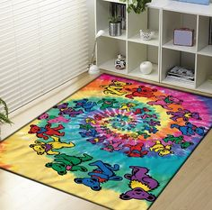 Grateful Dead and Dancing Bears Blanket