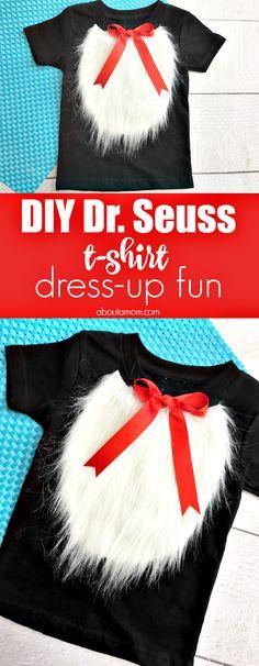 No-Sew Dr. Seuss T-Shirt Craft