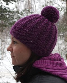 Soppaa ja silmukoita: Pipo poikineen Hats For Women, Knitted Hats, Winter Hats, Knitting, Food, Fashion, Knit Hats, Moda, Tricot
