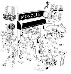 Monocle Mallorca ! Illustration by Satoshi Hashimoto www.dutchuncle.co.uk/satoshi-hashimoto-images  Satoshi_Hashimoto_Mallorca.1.jpg