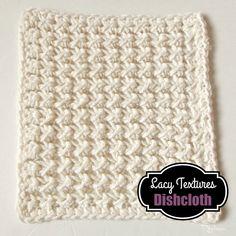 Lacy Textures Dishcloth